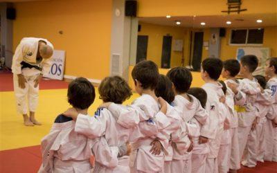 ¡Empezamos las clases de judo para niños!